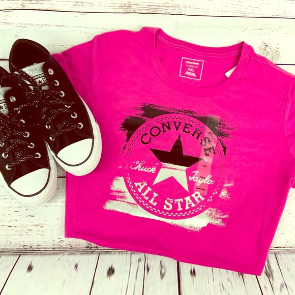 Women's T shirt Converse Chuck Taylor All Star. NWT